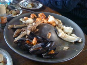 The Fish Platter at The Fisherman's Workshop